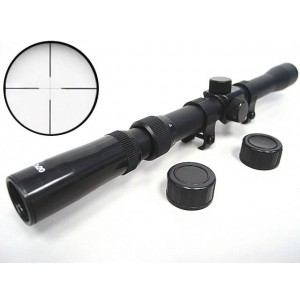 3-7x20 20mm Airsoft Hunting Crosshair Rifle Gun Scope