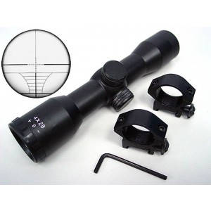 4x28 28mm Airsoft Hunting Crosshair Reticle Rifle Scope