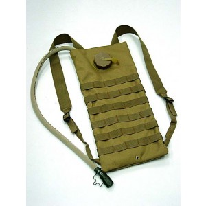Molle 3L Hydration Water Backpack Coyote Brown
