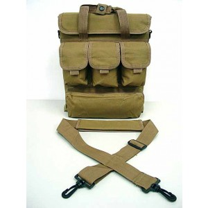 Notebook Computer Carry Case Shoulder Bag Coyote Brown