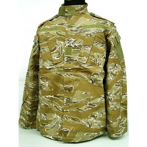 US Army Desert Tiger Stripe Camo BDU Uniform Set