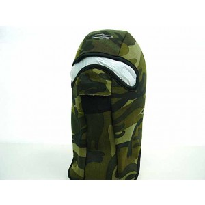 Balaclava Hood 1 Hole Head Face Warmskin Mask Camo Woodland