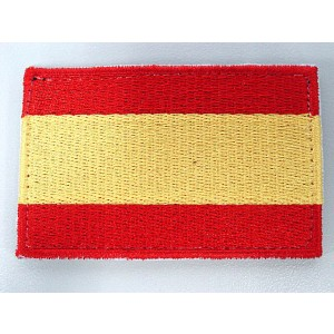 Spain Spanish Army Nation Country Flag Velcro Patch