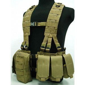 US Army Delta Elite Seal Molle Hydration Vest Coyote Brown