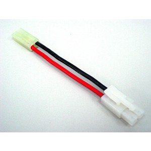 Large Male to Small Female RC AEG Battery Wire Cable