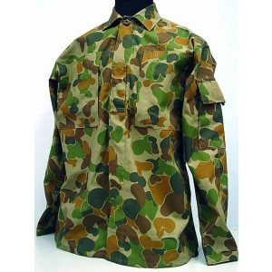 Australian Army Camo Woodland Auscam BDU Uniform Set