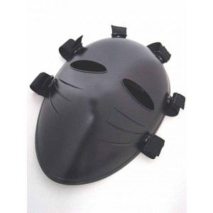 Tactical Full Face Airsoft Paintball Killer Mask Black
