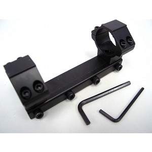 30mm High Scope Dual Ring Mount for 11mm Dovetail Rail