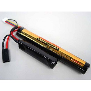 Firefox 11.1V 1350mAh Li-ion Airsoft CQB/R Battery 12C
