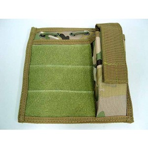 Molle MOD Map Torch Admin Pouch Multi Camo