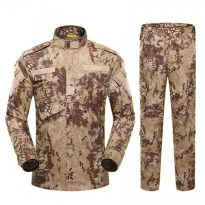 Kryptek Highlander Camo BDU Field Uniform Set Shirt Pants