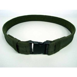 "Combat BDU Airsoft 1.5"" Duty Belt OD"