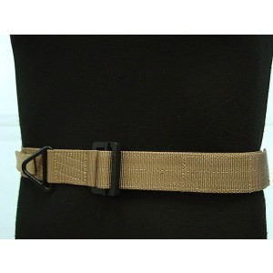 Tactical CQB Heavy Duty Rigger Belt Coyote Brown L