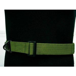 Tactical CQB Heavy Duty Rigger Belt OD S