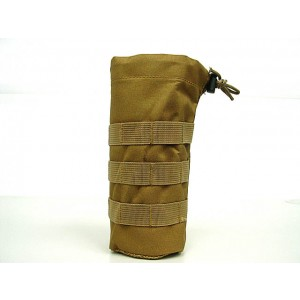 Molle Water Bottle Utility Dump Pouch Coyote Brown
