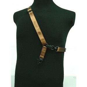 MAGPUL PTS Single/Two Point MS2 Style Multi Mission Rifle Sling Brown