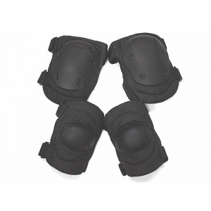 Advanced Tactical Knee & Elbow Pads Black