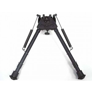 "9-15"" Spring Rifle Shooter Bipod w/20mm RIS Adaptor"