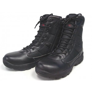 "Magnum Style 8"" Side Zip Tactical Boots Black"