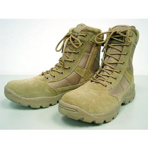 "Magnum Style 8"" Side Zip Tactical Boots Tan"