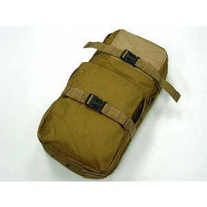 Molle MBSS 3L Hydration Water Back Pack Pouch Coyote Brown