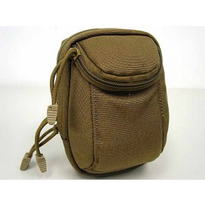 Flyye 1000D Molle EDC Mini Camera Bag Pouch Coyote Brown