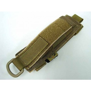 Flyye 1000D Molle Expandable Baton Holder Pouch Coyote Brown
