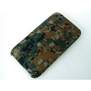 Silverback Camo Case for Apple iPhone 3G/3GS Marpat Woodland