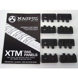 MAGPUL XTM Modular Rail Panels Cover Set of 8 Black