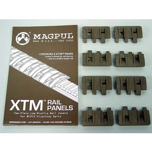 MAGPUL XTM Modular Rail Panels Cover Set of 8 Dark Earth