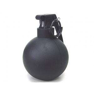 SY Gas Powered M67 Type Hand Metal Grenade Black SY848