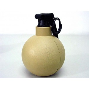 SY Gas Powered M67 Type Hand Metal Grenade Tan SY848