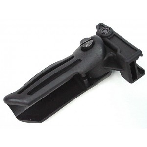 Tactical Airsoft 20mm RIS Rail Folding Foregrip Grip BK