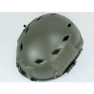 Airsoft FAST Base Jump Style Helmet Foliage Green