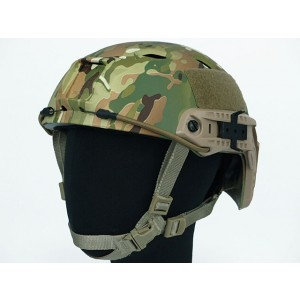 Airsoft FAST Base Jump Style Helmet Multi Camo