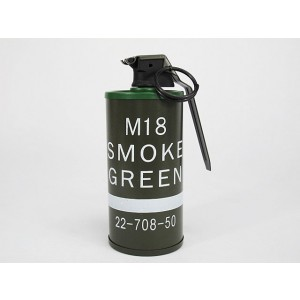 M18 Smoke Grenade Dummy Model Kit Green