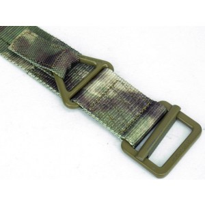 Tactical CQB Heavy Duty Rigger Belt A-TACS Camo FG L