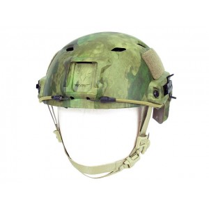 Airsoft FAST Base Jump Style Helmet A-TACS FG Camo