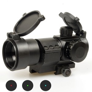 Comp M3 Type Red Green Blue Dot Sight Scope w/Cantilever L-Shape Mount (Default)