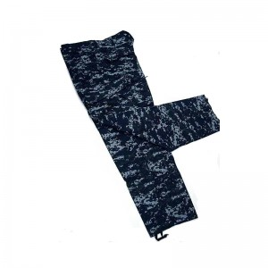 US Navy Blue Digital ACU Style Pants Digital Navy Blue Camo