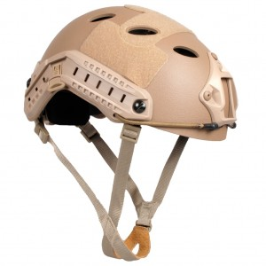 Fast Helmet Carbon Base Jump  Tan
