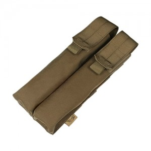 Flyye 1000D Molle Double P90/UMP Magazine Pouch Coyote Brown