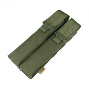 Flyye 1000D Molle Double P90/UMP Magazine Pouch Ranger Green