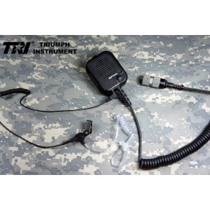 TRI Modified original Communications Speaker With Earphone For TRI PRC-152 TRI PRC-148