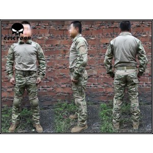 EMERSON Military Airsoft Paintball Combat Shirt & Pants Set Multicam MC