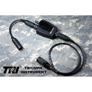 TRI TEA Style G-Switch-II PTT For TRI PRC-152 / 148 Military 6-Pins Ver