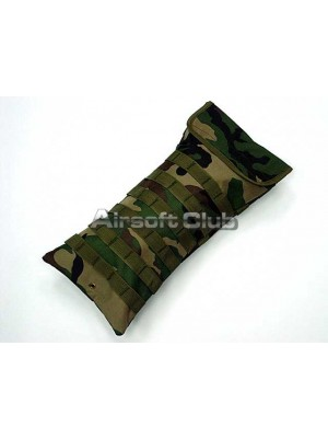 Molle Hydration Water System Carrier Pouch Camo Woodland