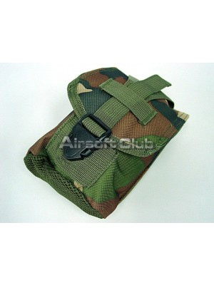 Molle 1Qt Canteen Utility Pouch Camo Woodland