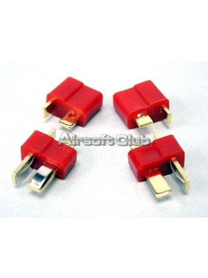 T-Shape Battery Plug Converter (Large) 2pcs Set
