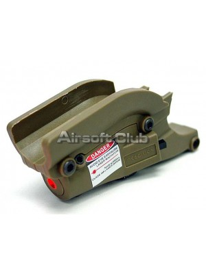 OP Red Laser Sight with Lateral Grooves for M9/M92F Pistol Tan